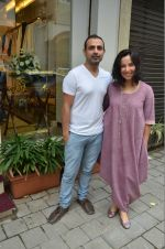 Shraddha Nigam, Mayank Anand at the launch of FANTASTIQUE by Abu Sandeep on 15th July 2016 (26)_57892a661478b.JPG