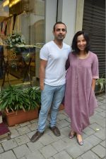 Shraddha Nigam, Mayank Anand at the launch of FANTASTIQUE by Abu Sandeep on 15th July 2016 (24)_57892a3170694.JPG