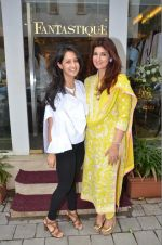Twinkle Khanna at the launch of FANTASTIQUE by Abu Sandeep on 15th July 2016
