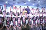 John Abraham at a school in kalyan on 16th July 2016
