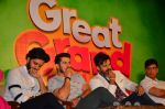 Vivek Oberoi, Riteish Deshmukh, Aftab Shivdasani at Great Grand Masti piracy press meet in Mumbai on 16th July 2016 (59)_578b775f913e6.JPG
