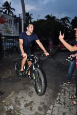 Dino Morea snapped at soccer match on 17th July 2016