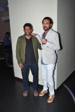 Irrfan Khan, Nishikant Kamat at Madaari film screening in Mumbai on 17th July 2016