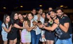 Puja Banerjee,Kunal Verma,Shraddha Arya, Arjun Bijlani. with Friends at Kunal Verma_s Birthday celebration in R Adda on 17th July 2016.JPG_578c620d65499.JPG