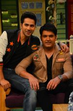Varun Dhawan promote Dishoom on the sets of The Kapil Sharma Show on 17th July 2016