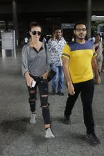 Amy Jackson snapped at airport on 18th July 2016
