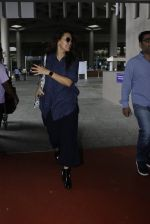 Neha Dhupia snapped at airport on 18th July 2016