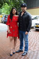 Adhyayan Suman and Sara Loren snapped in Mumbai on 19th July 2016