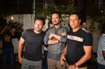 Homi Adajania, Irrfan Khan, Madhur Bhandarkar at Madaari screening in Mumbai on 19th July 2016 (64)_578f1c3e6eff4.JPG