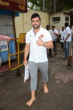 Puneri Paltan visits Siddhivinayak Temple, Mumbai on July 20, 2016 (21)_578fb3514f4e7.JPG