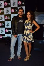 Sugandha Mishra, Jay Bhanushali at Sony Tv�s Show The Voice India Kids 2016 press meet on 19th July 2016 (2)_578f263707b3a.JPG