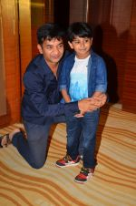 Kabir Sajid,Ashish Patil at the launch of movie Sex Chat with Pappu & Papa on 20th July 2016 (26)_579056c338032.JPG