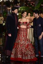 Deepika Padukone, Manish Malhotra, Fawad Khan during the FDCI India Couture Week 2016 at the Taj Palace on July 21, 2016 (15)_57903de635f41.JPG
