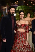 Fawad Khan, Deepika Padukone during the FDCI India Couture Week 2016 at the Taj Palace on July 21, 2016 (8)_57903df352ad0.JPG