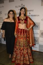 Divya Khosla Walks For Reynu Taandon at the FDCI India Couture Week 2016 (24)_57922c15b7bf2.JPG