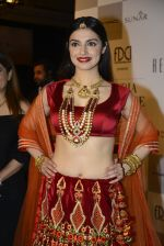 Divya Khosla Walks For Reynu Taandon at the FDCI India Couture Week 2016 (1)_57922c083f281.JPG