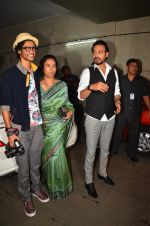 Irrfan Khan son Babil Khan and wife Sutapa Sikdar at the special screening of Madaari in Lightbox on 21st July 2016 (16)_5791a0dca2917.JPG