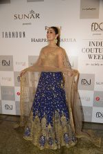Yami Gautam walks the ramp for Rimple and Harpreet Narula at the FDCI India Couture Week 2016 on 22 July 2016 (15)_57922e8f56bfd.JPG