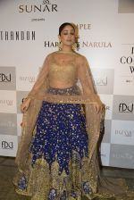 Yami Gautam walks the ramp for Rimple and Harpreet Narula at the FDCI India Couture Week 2016 on 22 July 2016 (17)_57922e9188117.JPG