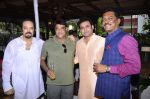 Akbar Khan, Nitin Kenny, Joe Rajan & Pratap Sarnaik at Akbar Khan_s Grand Get - Together at his residence_57934f206bf5e.JPG