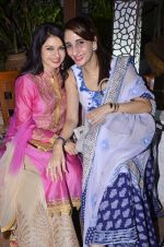 Bhagyashree with Farah Ali Khan at Akbar Khan_s Grand Get - Together at his residence_57934ec8d97f0.JPG