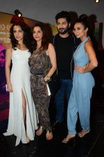 Lillete Dubey, Auritra Ghosh, Ira Dubey, Raaghav Chanana during the special screening of film M Cream on 22 July 2016