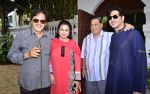 Sanjay Khan, Poonam Dhillon, David Dhawan & Zayed Khan at Akbar Khan_s Grand Get - Together at his residence_57934ef57a762.JPG
