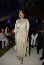Sonam Kapoor during Anamika Khanna showcase When Time Stood Still at the FDCI India Couture Week 2016 on 22 July 2016 (19)_57932337c3700.JPG