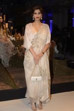 Sonam Kapoor during Anamika Khanna showcase When Time Stood Still at the FDCI India Couture Week 2016 on 22 July 2016 (7)_5793232f55229.JPG