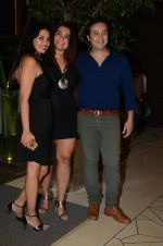 Divya Palat and Aditya Hitkari during the party orgnised by Tanishaa Mukerji on behalf of her NGO STAMP in Mumbai, India on July 23, 2016 (3)_57945ded65900.JPG