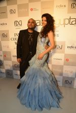 Gaurav Gupta, Saiyami Kher during showcase of Gaurav Gupta collection scape song at FDCI India Couture Week 2016 on 23 July 2016 (10)_57943c1e4f9e5.JPG