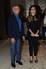 Juhi Chawla with husband Jay Mehta during the party orgnised by Tanishaa Mukerji on behalf of her NGO STAMP in Mumbai, India on July 23, 2016