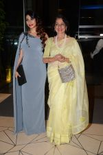 Tanishaa Mukerji with mother Tanuja during the party orgnised by Tanishaa Mukerji on behalf of her NGO STAMP in Mumbai, India on July 23, 2016 (3)_579460d839cea.JPG