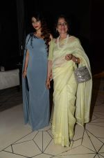 Tanishaa Mukerji with mother Tanuja during the party orgnised by Tanishaa Mukerji on behalf of her NGO STAMP in Mumbai, India on July 23, 2016