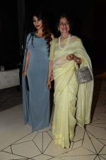 Tanishaa Mukerji with mother Tanuja during the party orgnised by Tanishaa Mukerji on behalf of her NGO STAMP in Mumbai, India on July 23, 2016 (9)_579460ef3d837.JPG