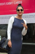 Gauhar Khan snapped outside Japanese Restaurant on 24th July 2016