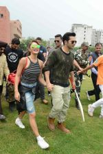 Jacqueline Fernandez, Varun Dhawan promote Dishoom on 25th July 2016