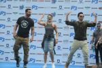 John Abraham, Varun Dhawan, Jacqueline Fernandez promote Dishoom on 25th July 2016