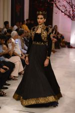 Models walk the ramp displaying Rohit Bal_s latest collection Kehkashaan at the India Couture Week 2016 on July 24, 2016 (110)_57962249f3475.JPG