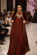 Models walk the ramp displaying Rohit Bal_s latest collection Kehkashaan at the India Couture Week 2016 on July 24, 2016 (115)_5796224de808d.JPG