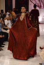 Models walk the ramp displaying Rohit Bal_s latest collection Kehkashaan at the India Couture Week 2016 on July 24, 2016 (120)_57962251f2255.JPG