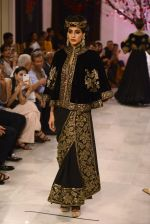 Models walk the ramp displaying Rohit Bal_s latest collection Kehkashaan at the India Couture Week 2016 on July 24, 2016 (66)_57962224d6cac.JPG
