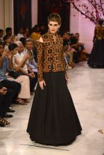 Models walk the ramp displaying Rohit Bal_s latest collection Kehkashaan at the India Couture Week 2016 on July 24, 2016 (82)_57962233748bf.JPG
