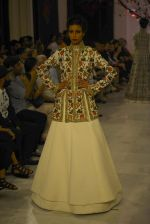 Models walk the ramp displaying Rohit Bal_s latest collection Kehkashaan at the India Couture Week 2016 on July 24, 2016 (1)_579621ec0a81f.JPG