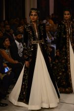 Models walk the ramp displaying Rohit Bal_s latest collection Kehkashaan at the India Couture Week 2016 on July 24, 2016 (18)_579621faa957b.JPG