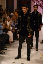 Models walk the ramp displaying Rohit Bal_s latest collection Kehkashaan at the India Couture Week 2016 on July 24, 2016 (20)_579621fbdc6a0.JPG
