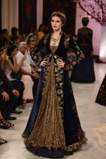 Models walk the ramp displaying Rohit Bal_s latest collection Kehkashaan at the India Couture Week 2016 on July 24, 2016 (32)_579622079e983.JPG