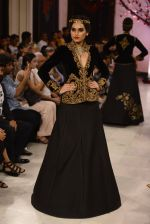 Models walk the ramp displaying Rohit Bal_s latest collection Kehkashaan at the India Couture Week 2016 on July 24, 2016 (43)_579622114a180.JPG