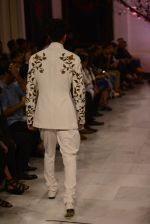Models walk the ramp displaying Rohit Bal_s latest collection Kehkashaan at the India Couture Week 2016 on July 24, 2016 (9)_579621f51b9bf.JPG