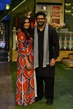 Arshad Warsi, Maria Goretti on the sets of Sony_s The Kapil Sharma Show on 25th July 2016 (28)_57975b9384ac6.JPG